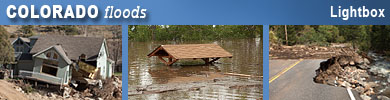 Colorado flood photos and videos