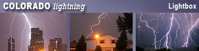 Colorado lightning photos and videos