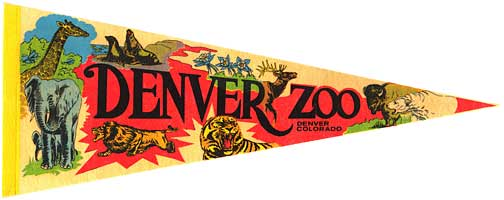 30 inch long zoo pennant