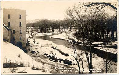 old mill and the Platte River